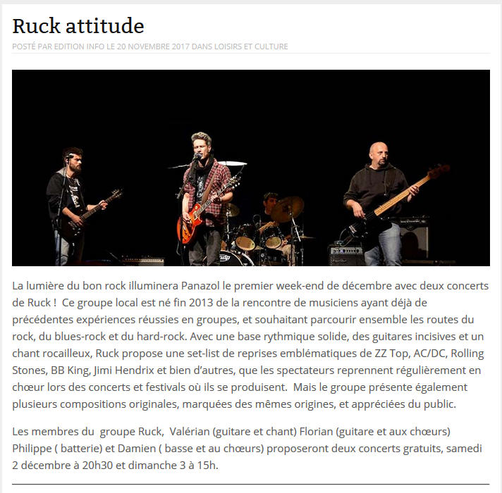 RUCK - Page 2 InfoMag